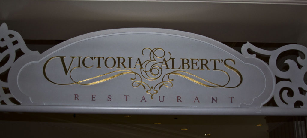 Victoria and Alberts at Disney World, one of the hardest advanced dining reservations to get.