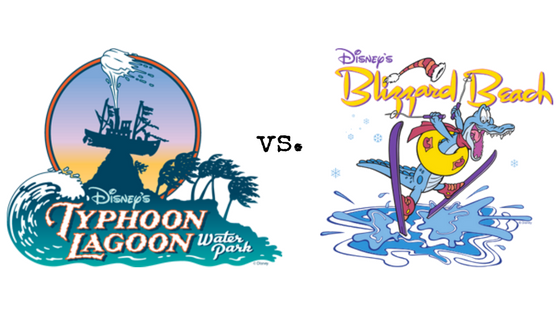 Typhoon Lagoon versus Blizzard Beach - The Definitive Guide to Disney World Water Park