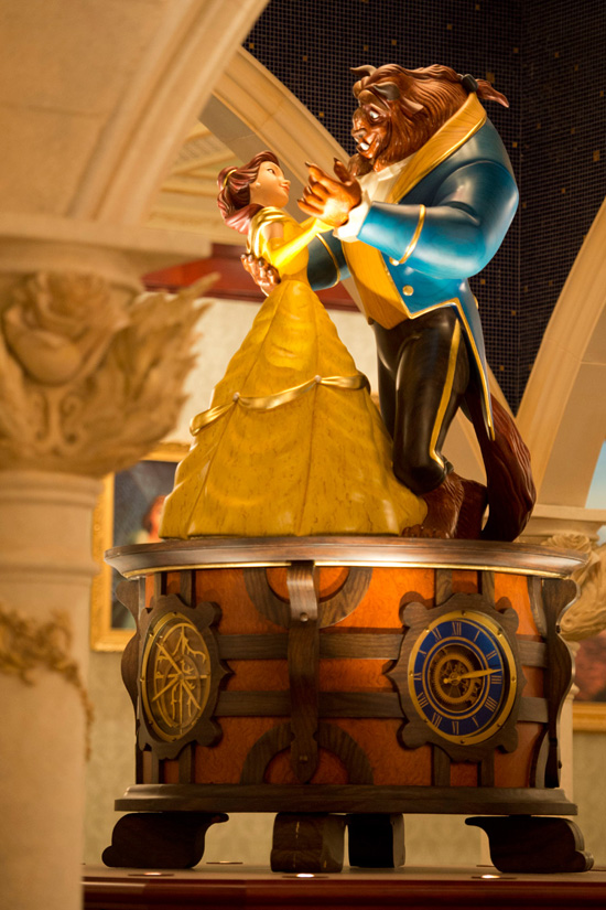 Be Our Guest Restaurant Rose Gallery