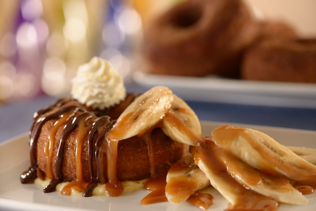 Be Our Guest Croissant Donut